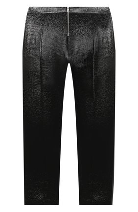 Детские шерстяные брюки BALMAIN черного цвета, арт. 6N6110/NB220/4-10 | Фото 2