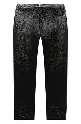 Детские шерстяные брюки BALMAIN черного цвета, арт. 6N6110/NB220/12-16 | Фото 2