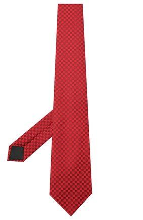 Мужской шелковый галстук LANVIN бордового цвета, арт. 3050/TIE | Фото 2