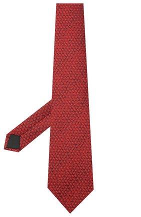 Мужской шелковый галстук LANVIN бордового цвета, арт. 3053/TIE | Фото 2