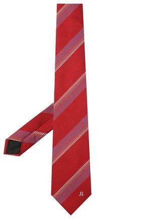 Мужской шелковый галстук LANVIN бордового цвета, арт. 3029/TIE | Фото 2