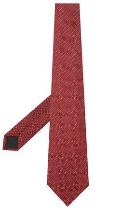 Мужской шелковый галстук LANVIN бордового цвета, арт. 3038/TIE | Фото 2