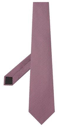 Мужской шелковый галстук LANVIN сиреневого цвета, арт. 3038/TIE | Фото 2
