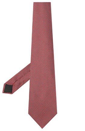 Мужской шелковый галстук LANVIN бордового цвета, арт. 3236/TIE | Фото 2