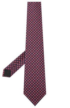 Мужской комплект из галстука и платка LANVIN бордового цвета, арт. 4303/TIE SET | Фото 2