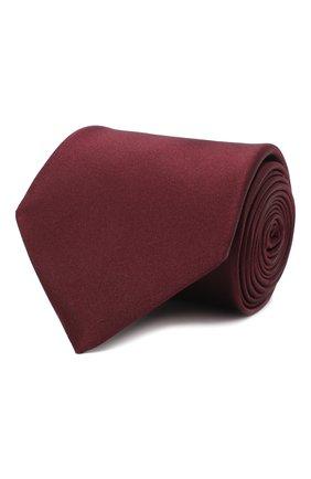 Мужской шелковый галстук LANVIN бордового цвета, арт. 3011/TIE | Фото 1