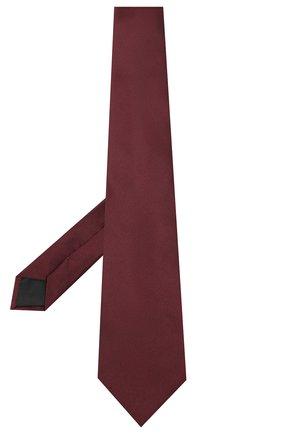 Мужской шелковый галстук LANVIN бордового цвета, арт. 3011/TIE | Фото 2