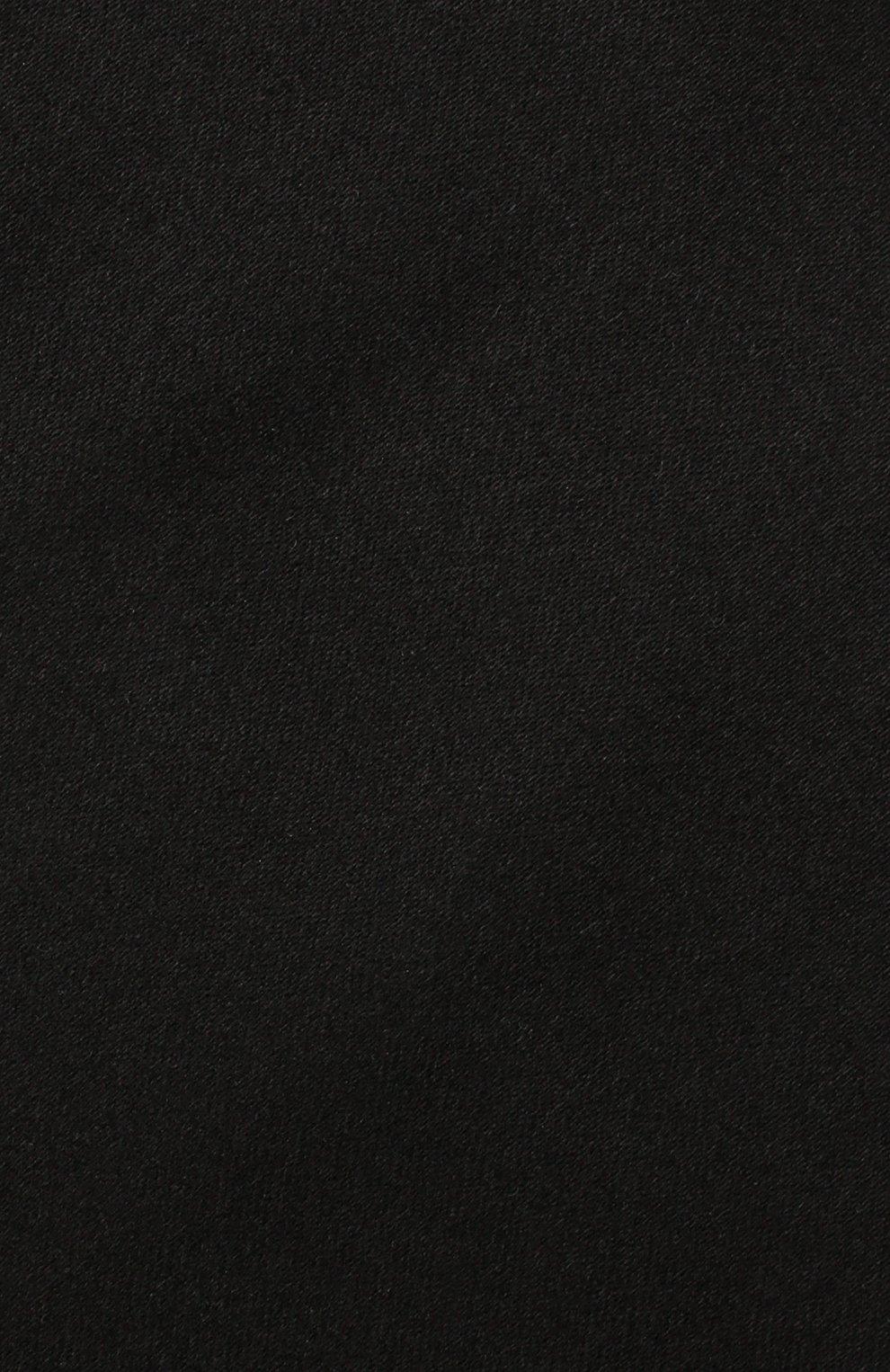 Мужской шелковый галстук LANVIN черного цвета, арт. 3014/TIE | Фото 3