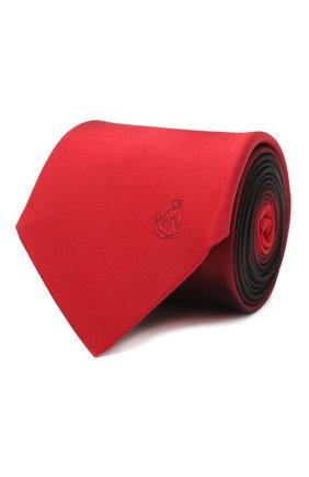 Мужской шелковый галстук LANVIN бордового цвета, арт. 3023/TIE | Фото 1