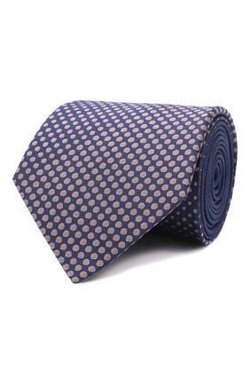 Мужской шелковый галстук LANVIN фиолетового цвета, арт. 3026/TIE | Фото 1