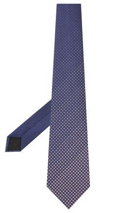 Мужской шелковый галстук LANVIN фиолетового цвета, арт. 3026/TIE | Фото 2