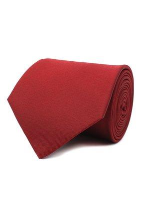 Мужской шелковый галстук LANVIN бордового цвета, арт. 3047/TIE | Фото 1