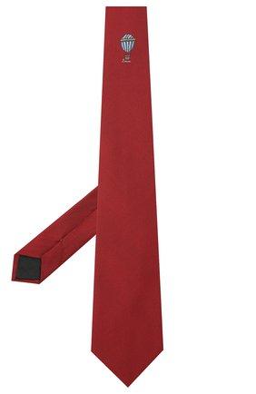 Мужской шелковый галстук LANVIN бордового цвета, арт. 3047/TIE | Фото 2