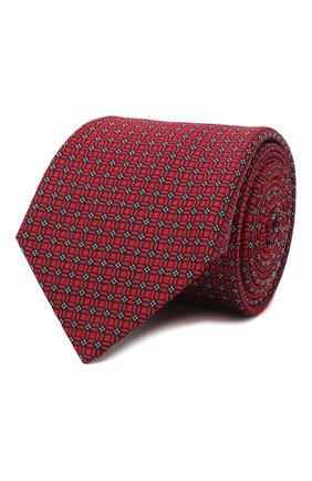 Мужской шелковый галстук LANVIN бордового цвета, арт. 3163/TIE | Фото 1