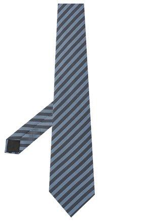 Мужской шелковый галстук LANVIN голубого цвета, арт. 3166/TIE   Фото 2