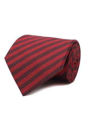 Мужской шелковый галстук LANVIN красного цвета, арт. 3166/TIE | Фото 1