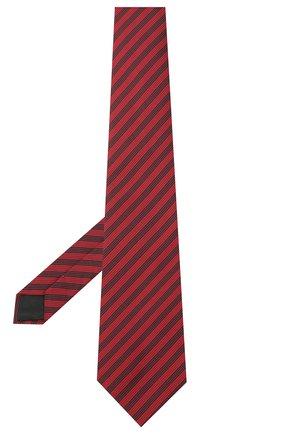 Мужской шелковый галстук LANVIN красного цвета, арт. 3166/TIE | Фото 2