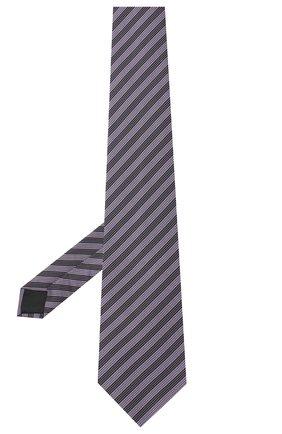 Мужской шелковый галстук LANVIN сиреневого цвета, арт. 3166/TIE | Фото 2
