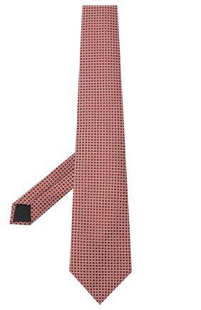 Мужской шелковый галстук LANVIN бордового цвета, арт. 3178/TIE | Фото 2