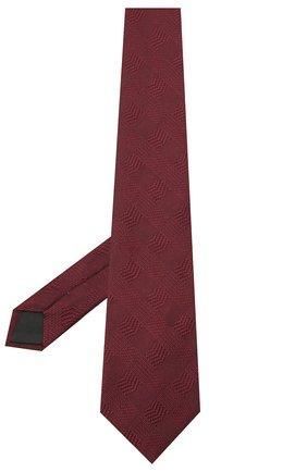 Мужской шелковый галстук LANVIN бордового цвета, арт. 3233/TIE | Фото 2
