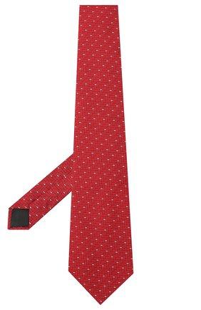 Мужской шелковый галстук LANVIN красного цвета, арт. 3245/TIE | Фото 2