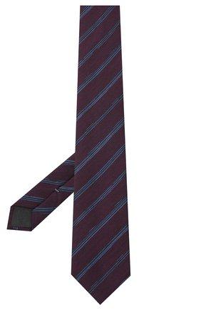 Мужской галстук из шелка и шерсти ERMENEGILDO ZEGNA фиолетового цвета, арт. Z8E33/18H | Фото 2