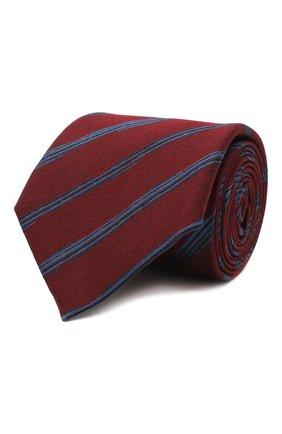 Мужской галстук из шелка и шерсти ERMENEGILDO ZEGNA красного цвета, арт. Z8E33/18H | Фото 1