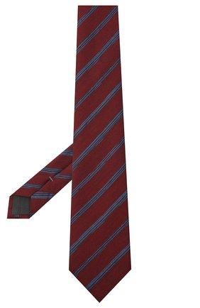 Мужской галстук из шелка и шерсти ERMENEGILDO ZEGNA красного цвета, арт. Z8E33/18H | Фото 2