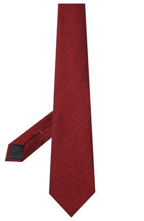 Мужской шелковый галстук ERMENEGILDO ZEGNA красного цвета, арт. Z8E42/1UM | Фото 2