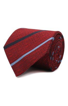 Мужской шелковый галстук ERMENEGILDO ZEGNA красного цвета, арт. Z8E42/1UM | Фото 1