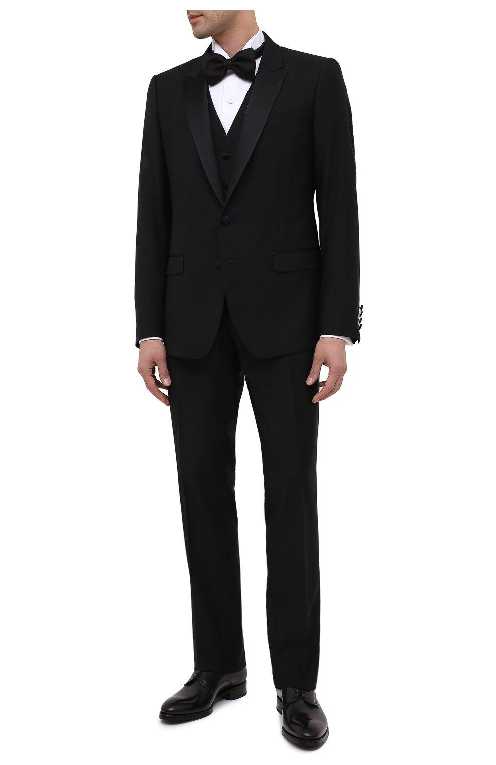 Мужские кожаные дерби BRIONI темно-серого цвета, арт. QEEX0L/P6757 | Фото 2