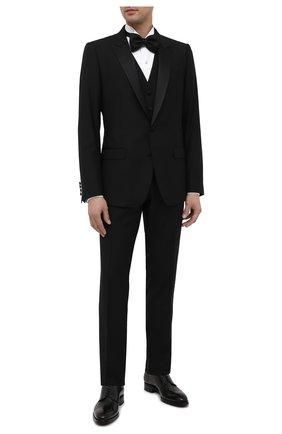 Мужская хлопковая сорочка ERMENEGILDO ZEGNA белого цвета, арт. 801980/9MENSM | Фото 2