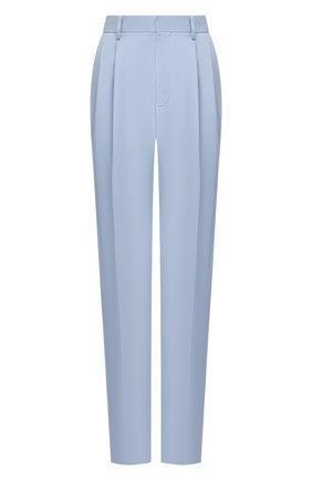 Женские шерстяные брюки STELLA MCCARTNEY голубого цвета, арт. 583642/SPA03 | Фото 1
