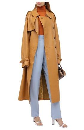 Женские шерстяные брюки STELLA MCCARTNEY голубого цвета, арт. 583642/SPA03 | Фото 2