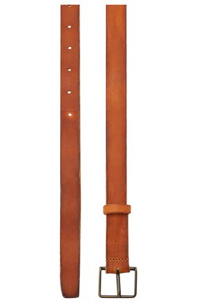 Женский кожаный ремень FORTE_FORTE коричневого цвета, арт. 7648 | Фото 2