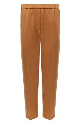 Женские шерстяные брюки FORTE_FORTE коричневого цвета, арт. 7518 | Фото 1