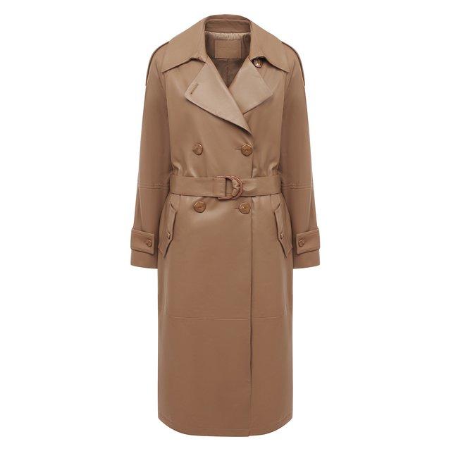 Кожаное пальто DROMe