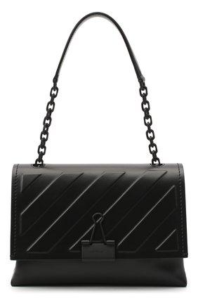 Женская сумка diag OFF-WHITE черного цвета, арт. 0WNA120E20LEA0091000 | Фото 1
