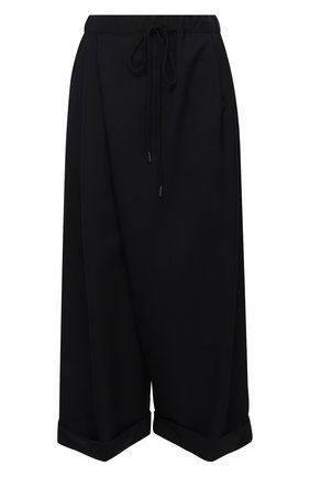 Женские шерстяные брюки MARNI темно-синего цвета, арт. PAMA0199A0/TW839 | Фото 1