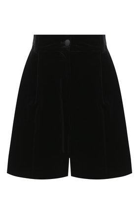 Женские хлопковые шорты DOLCE & GABBANA черного цвета, арт. FTBWMT/FUVG7 | Фото 1
