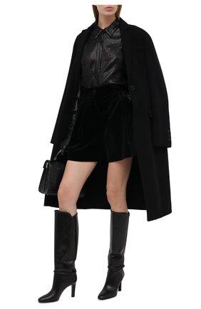 Женские хлопковые шорты DOLCE & GABBANA черного цвета, арт. FTBWMT/FUVG7 | Фото 2