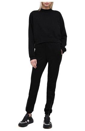 Женские хлопковые джоггеры COTTON CITIZEN черного цвета, арт. W417861 | Фото 2
