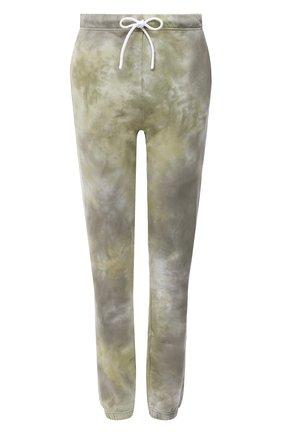 Женские хлопковые джоггеры COTTON CITIZEN хаки цвета, арт. W420461 | Фото 1