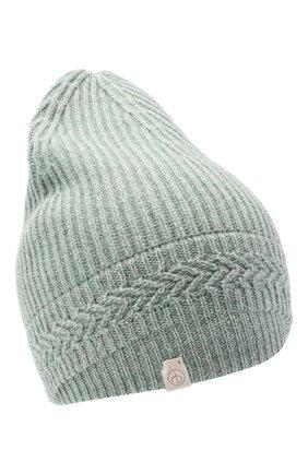 Женская кашемировая шапка RAG&BONE светло-зеленого цвета, арт. WJK20FS0158L15 | Фото 1