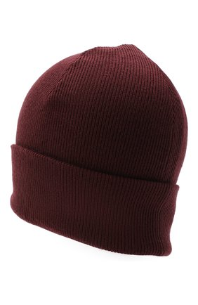 Женский шерстяная шапка RAG&BONE бордового цвета, арт. WJK20FS008XH08 | Фото 2