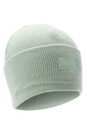 Женская шерстяная шапка RAG&BONE светло-зеленого цвета, арт. WJK20FS008XH08 | Фото 1