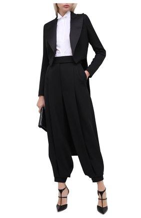 Женский шерстяной жакет ALEXANDRE VAUTHIER черного цвета, арт. 204JA1353 0193-1106 | Фото 2