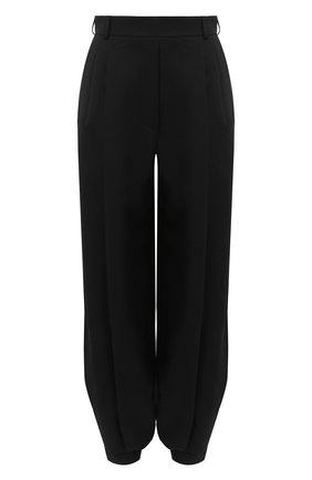 Женские шерстяные брюки ALEXANDRE VAUTHIER черного цвета, арт. 204PA1351 0193-1106   Фото 1