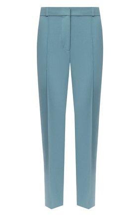 Женские брюки DIANE VON FURSTENBERG бирюзового цвета, арт. 15301DVF | Фото 1