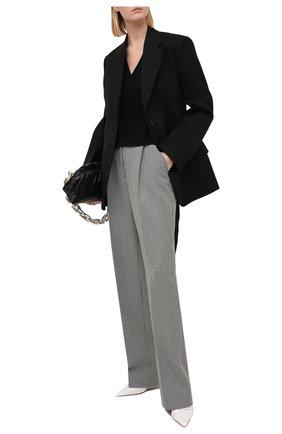 Женский топ из вискозы DIANE VON FURSTENBERG черного цвета, арт. 15051DVF | Фото 2